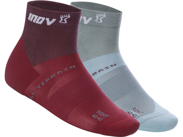 inov-8 W's All Terrain Mid Socks purple/blue grey